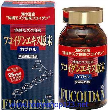Thuốc Fucoidon Nhật Bản Điêu Trị Bệnh Ung Thư