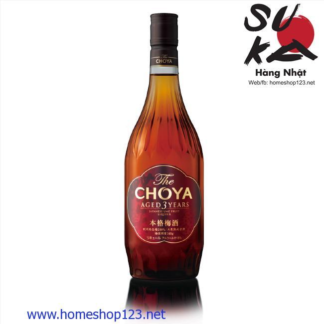 Rượu Mơ Nhật Bản Choya 3 Year