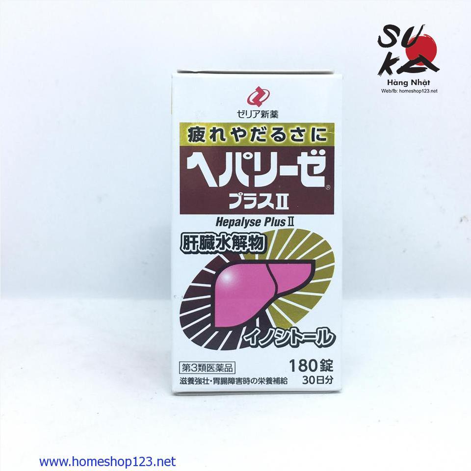 Viên uống bổ gan Hepalyse Plus II - 180 viên Nhật Bản