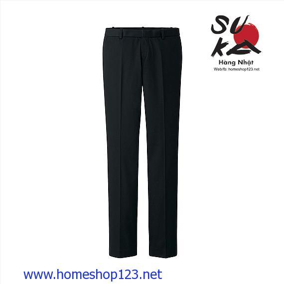 Quần vải nữ Uniqlo 128874-09 Black