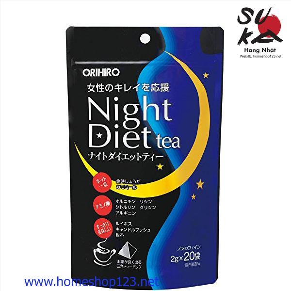 Trà Giảm Cân Night Diet Tea Nhật Bản