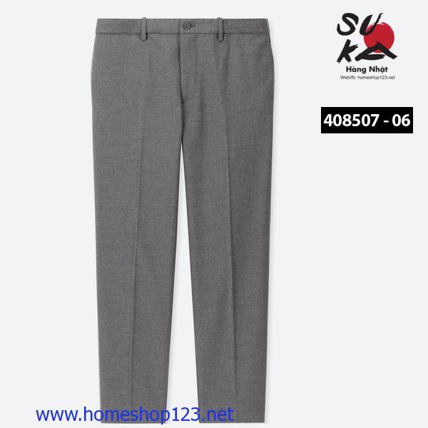 Quần Âu Nam Nhật Bản Uniqlo 408507-06 Gray