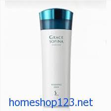 Sữa rửa mặt SOFINA 150ml trắng  và luôn giữ ẩm cho da