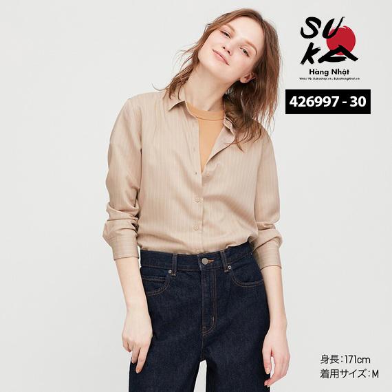 Áo Sơ Mi Nữ Uniqlo Nhật Bản 426997-30