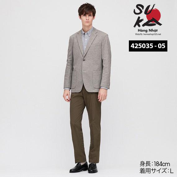 Áo Vest Demi Nam Uniqlo Nhật Bản - 425035
