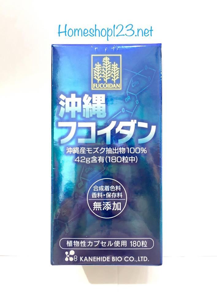 fucoidan okinawa xanh