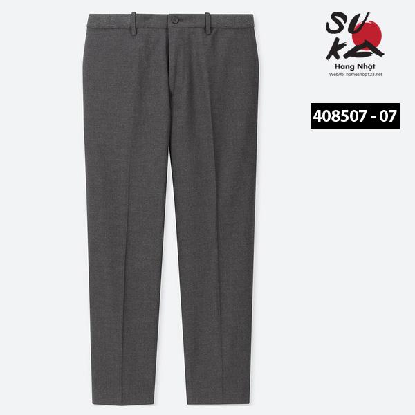 Quần Âu Nam Nhật Bản Uniqlo 408507 - 07 Gray
