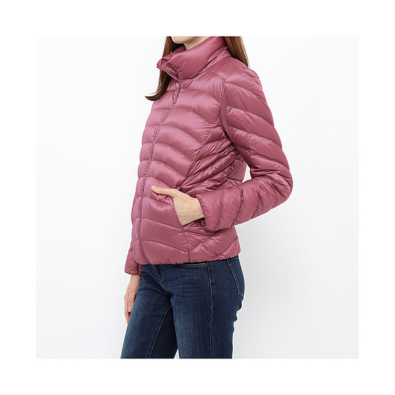 Áo lông vũ siêu nhẹ Uniqlo Nhật Bản 11 Pink
